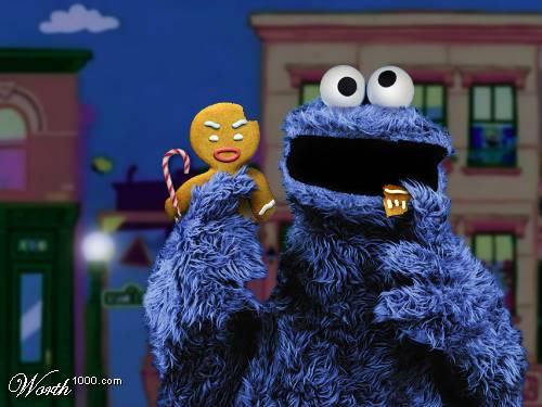 cookie monster robot chicken 